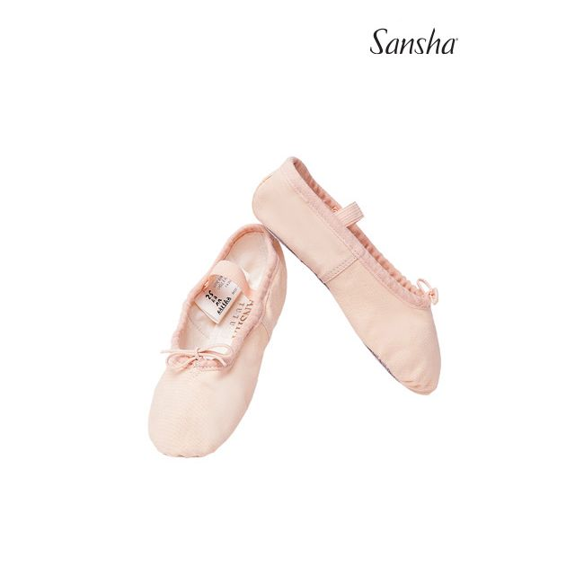 Flexibili Sansha cu talpa întreagă de piele TUTU 4C