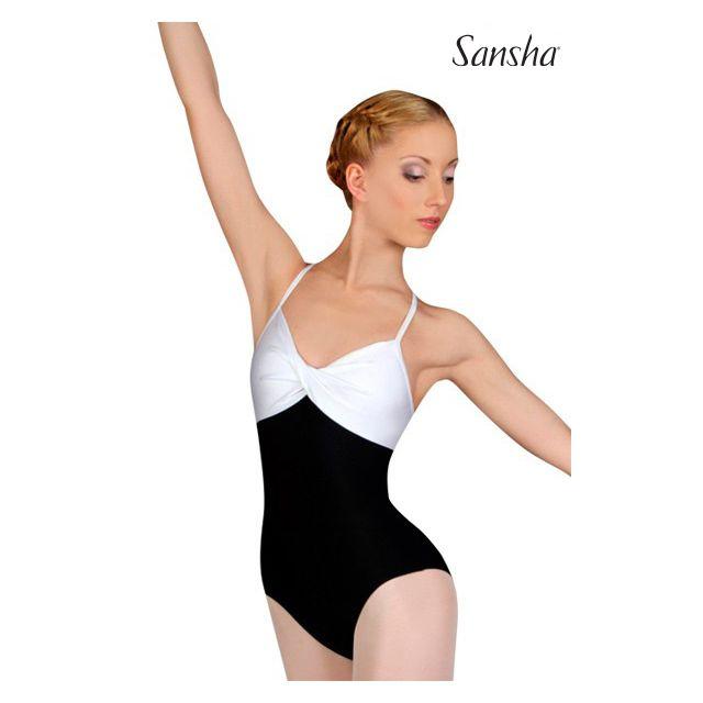 Costum de balet Sansha cu bretele subțiri MARA L1517M