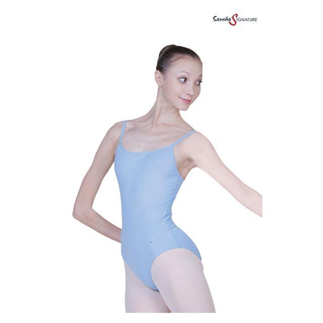 Costum de balet Sansha Sign cu bretele subțiri SHARI L1555C