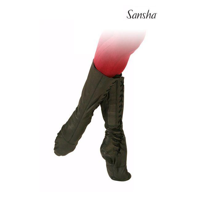 Cizme de balet Sansha cu talpa divizată RUDIK BB1Lpi