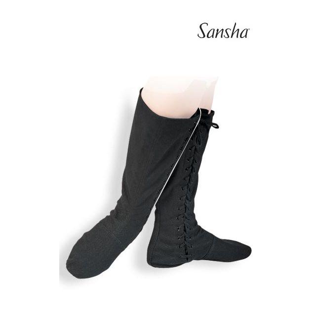 Cizme de balet Sansha cu talpa divizată RUDIK BB2C
