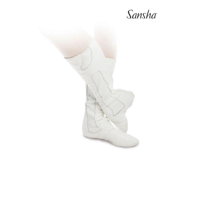 Cizme de balet Sansha cu talpa divizată VASLAV BB3