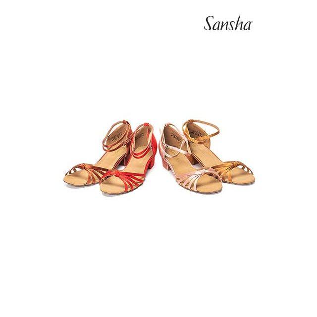 Sandale Sansha cu talpa de piele întoarsă GRACIA BK13026S