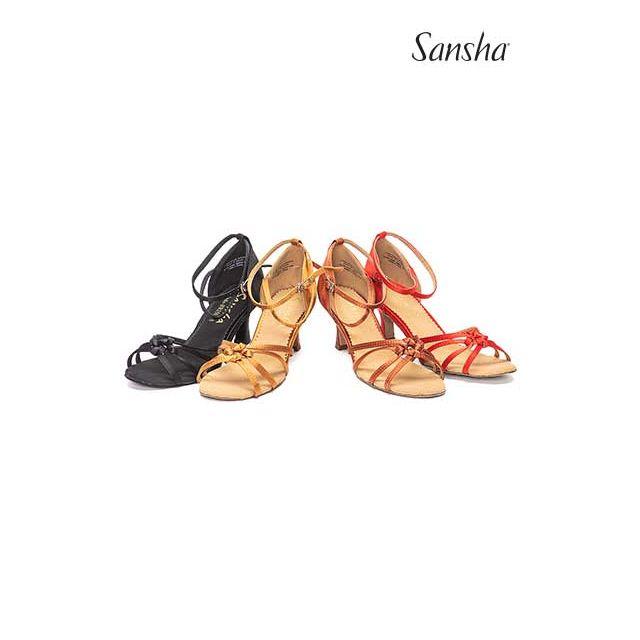 Sandale Sansha cu talpa de piele întoarsă LUCINDA BR25030S