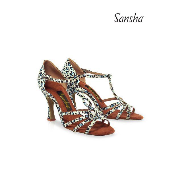 Sandale Sansha cu talpa de piele întoarsă MANUELA BR31031S