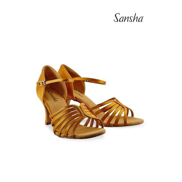 Sandale Sansha cu talpa de piele întoarsă SELIA BR31036S