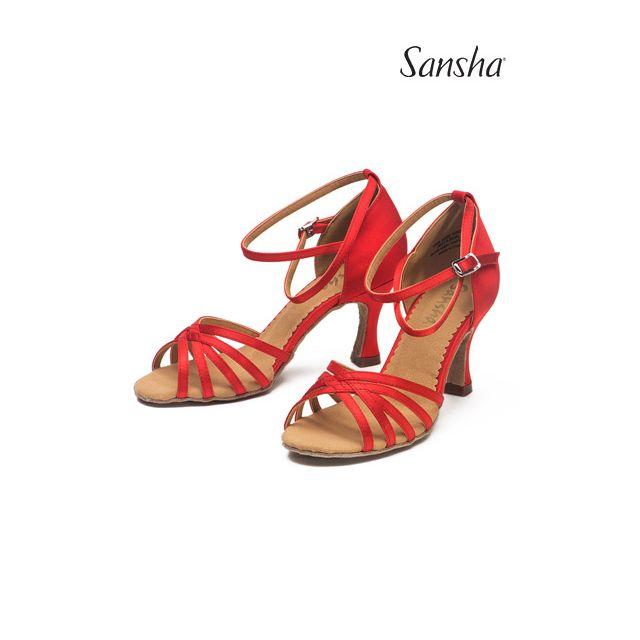 Sandale Sansha cu talpă de piele întoarsă ALAIA BR31016S