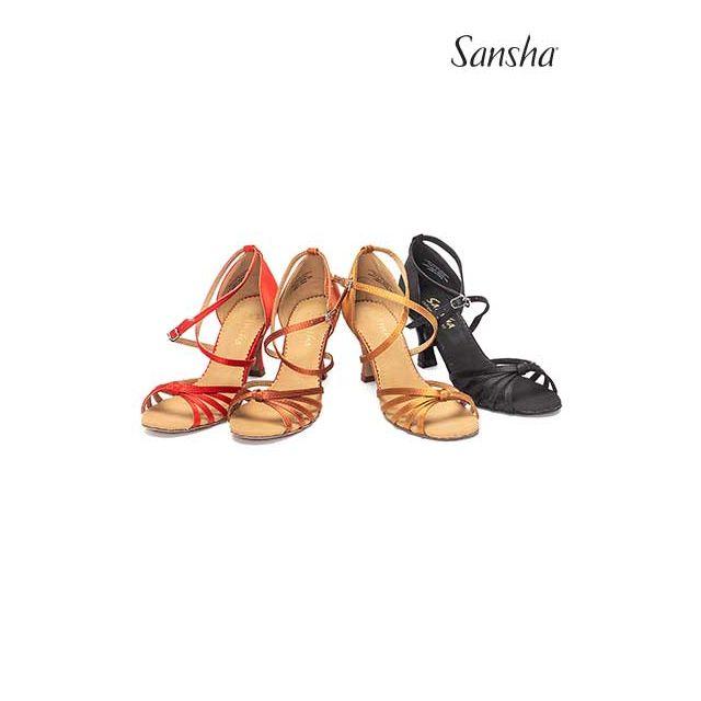 Sandale Sansha cu talpa de piele întoarsă CALIOPA BR31039S