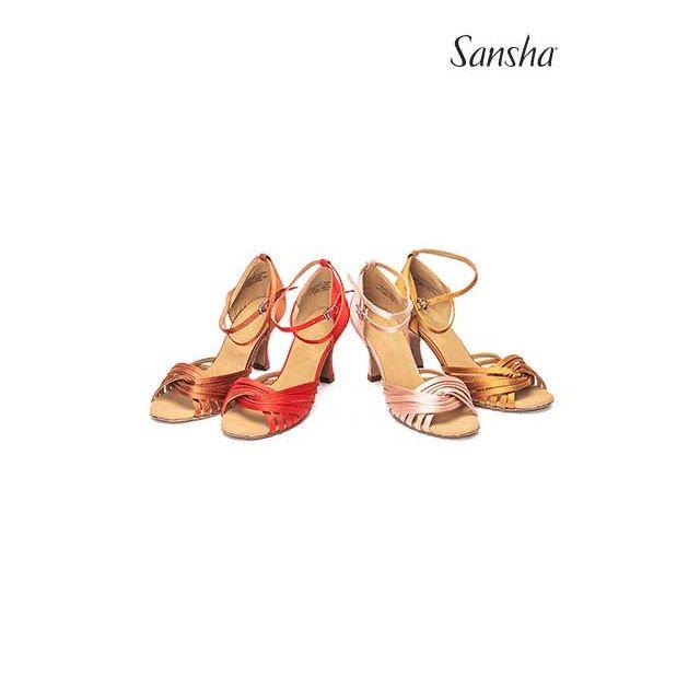 Sandale Sansha cu talpa de piele întoarsă ASHLEY BR31065S