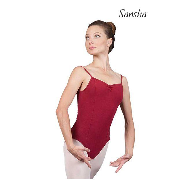 Costum de balet Sansha cu bretele subțiri MANAKARA C237C