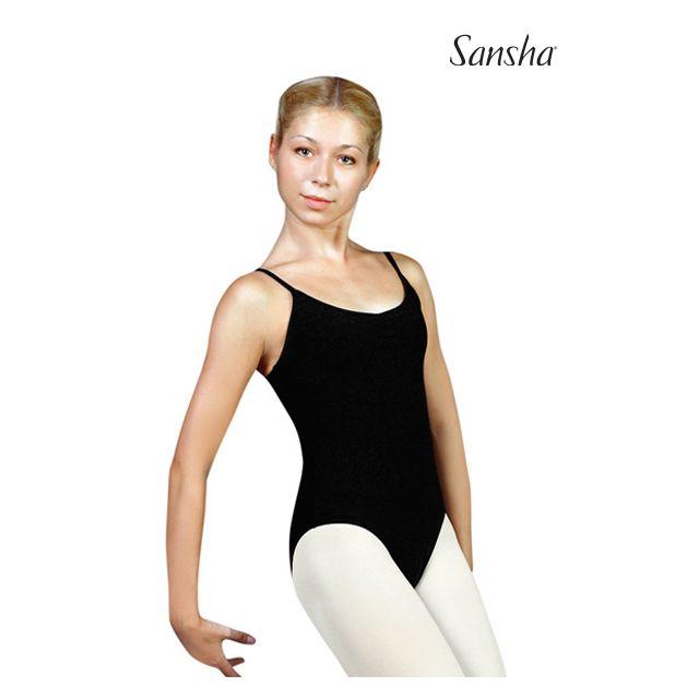 Costum de balet Sansha cu bretele subțiri YASMINA C238C