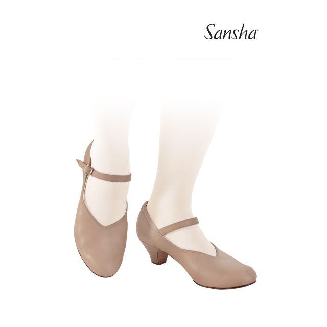 Pantofi de caracter Sansha LORETTE CL52L