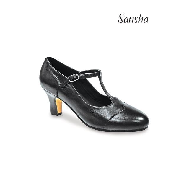 Pantofi de caracter Sansha RHINE CL55Lco