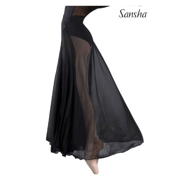 Fustă cu elastic Sansha lungă MISTI 2 D0917L