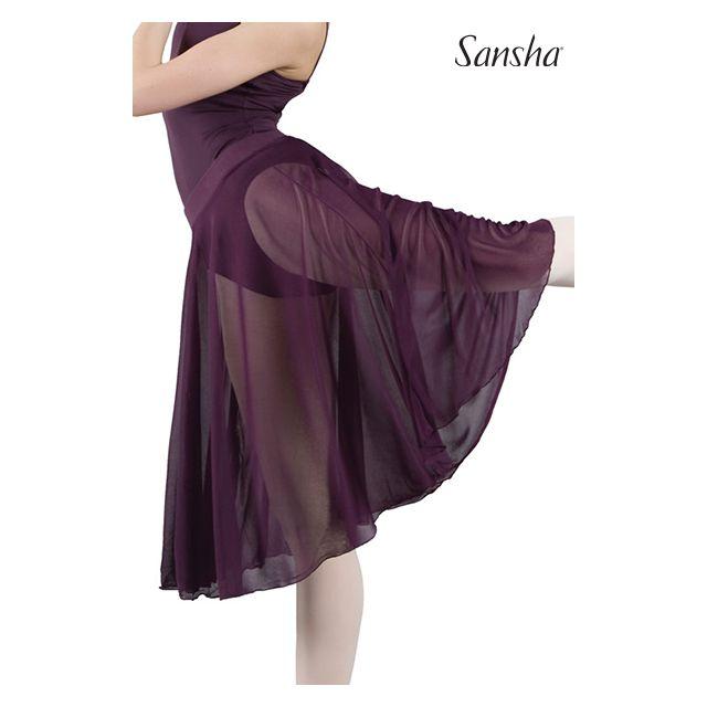 Fustă midi Sansha cu elastic MISTI 1 D0917MS