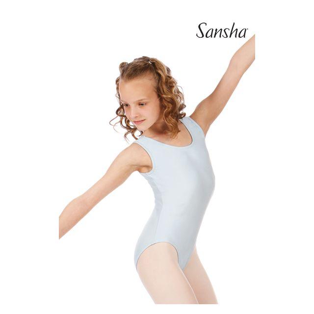 Costum de balet Sansha cu bretele late MA E206MN