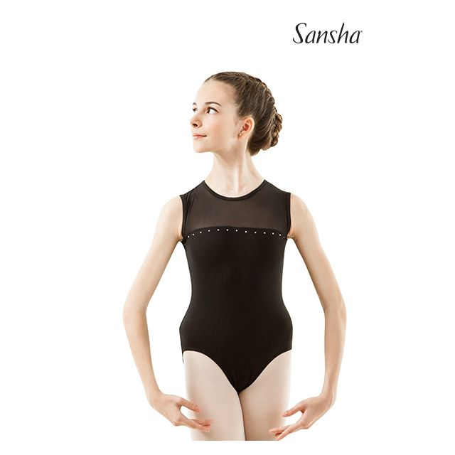 Costum de balet Sansha cu bretele subțiri FEDERICA Y2538C
