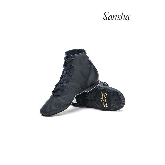 Pantofi jazz Sansha cu șiret boots SOHO JB1Lco