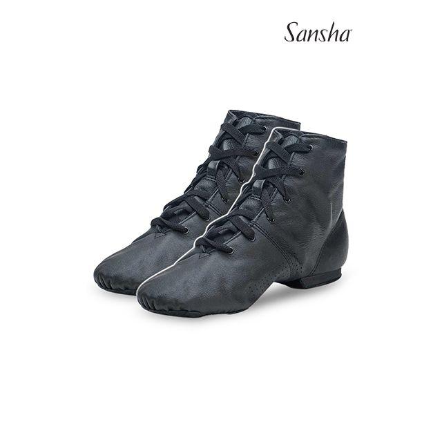 Pantofi jazz Sansha cu șiret boots SOHO JB2Lpi