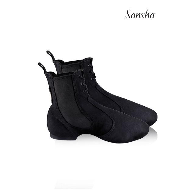 Pantofi jazz Sansha cu șiret boots SO-LI JB91C