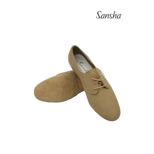 Pantofi jazz Sansha cu șiret CABARET JS41