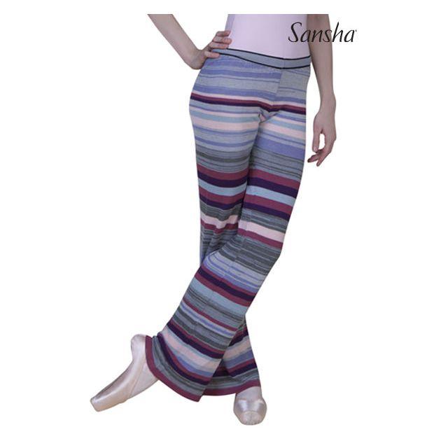 Pantaloni largi Sansha colorați FINNETTE KC0101A