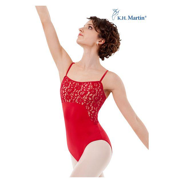 Costum de balet Martin elegance cu bretele subțiri ADDALIN KH1570M