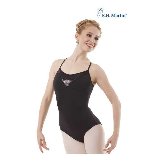 Costum de balet Martin cu bretele subțiri SONNIA KH1571M