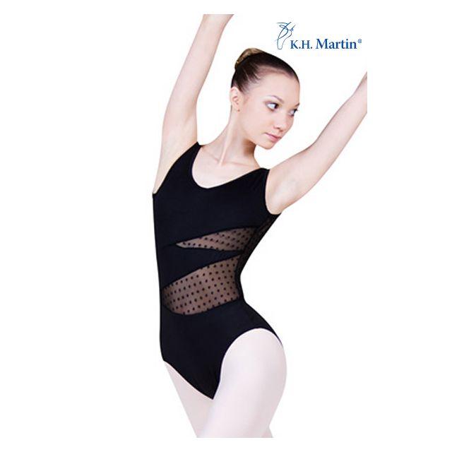 Costum de balet Martin fără mâneci BRIANA KH2550M