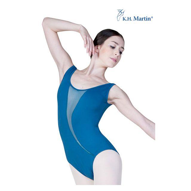 Costum de balet Martin fără mâneci ACELIN KH2553