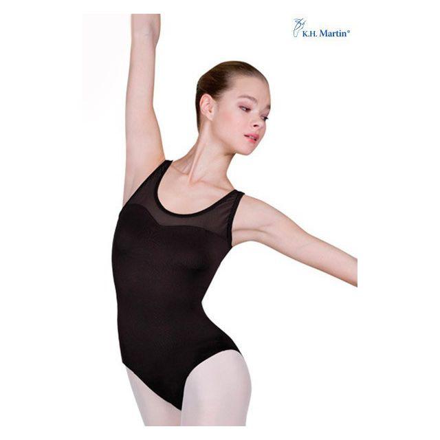 Costum de balet Martin fără mâneci KIRSKA KH2554
