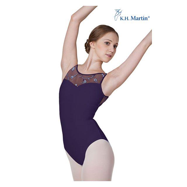 Costum de balet Martin fără mâneci ALGIA KH2558M