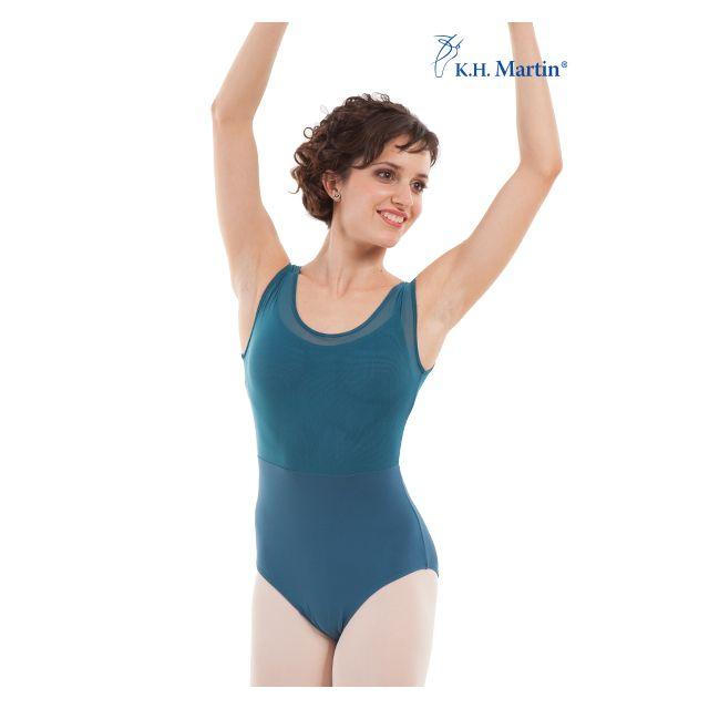 Costum de balet Martin fără mâneci ASIA KH2561M