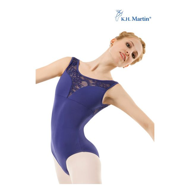 Costum de balet Martin fără mâneci AYLIN KH2571M