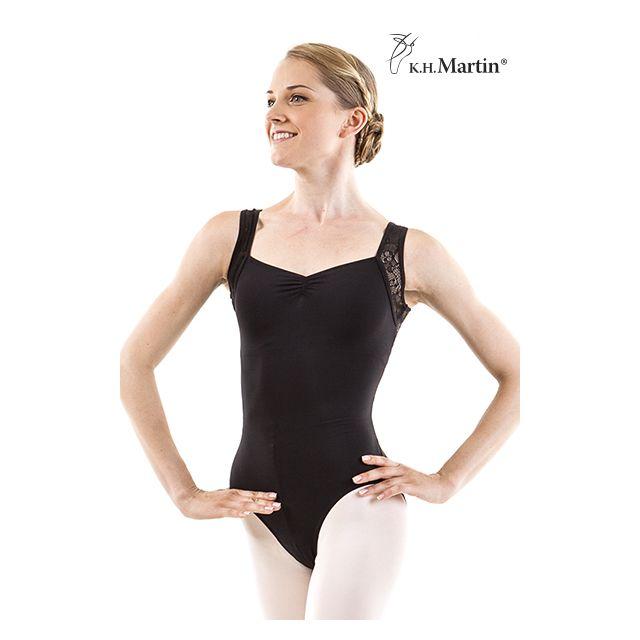 Costum de balet Martin fără mâneci SAIGE KH2578M