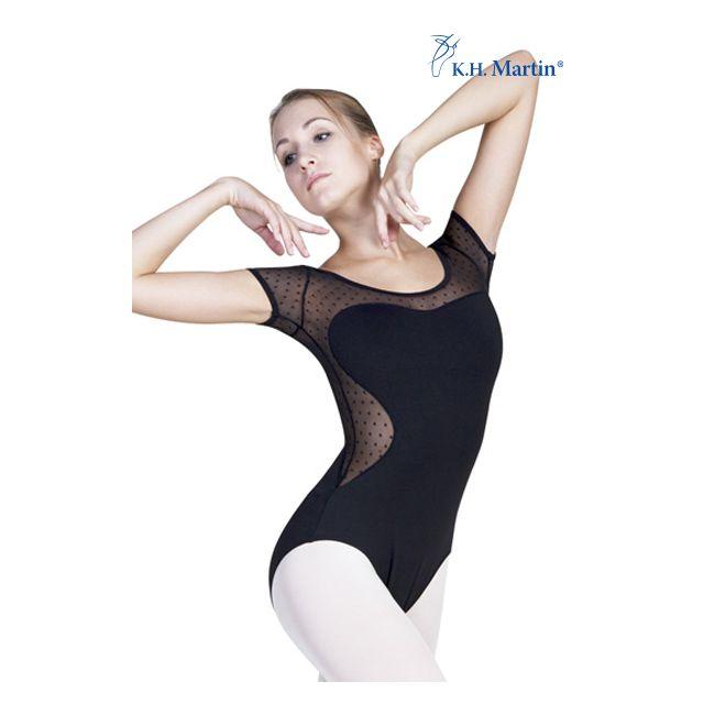 Costum de balet Martin cu mâneci scurte ANISA KH3518M