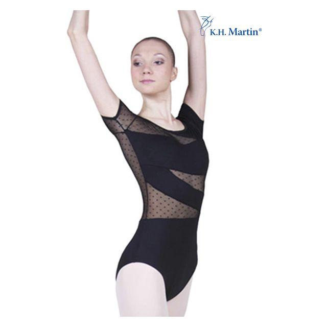Costum de balet Martin cu mâneci scurte AVERA KH3523M