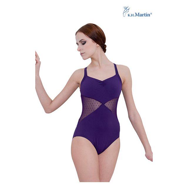 Costum de balet Martin fără mâneci AGNELLA KH7524M