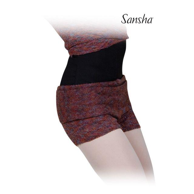 Pantaloni scurți Sansha întorși peste șolduri KERLA KT0630A