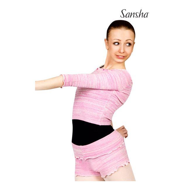 Jerseu tricotat Sansha cu mâneci 3/4 KAYLEAN KT4047A