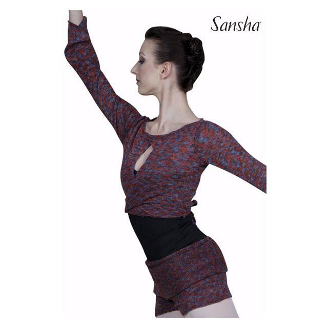 Sansha Wrap sweater KONNIE KT4053A
