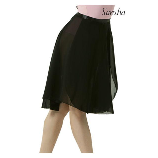 Fustă petrecută Sansha lungime medie ALINE L0906CH