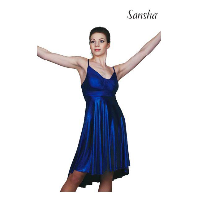 Rochie Sansha Ballroom cu bretele subțiri DIAMANDA L1708P