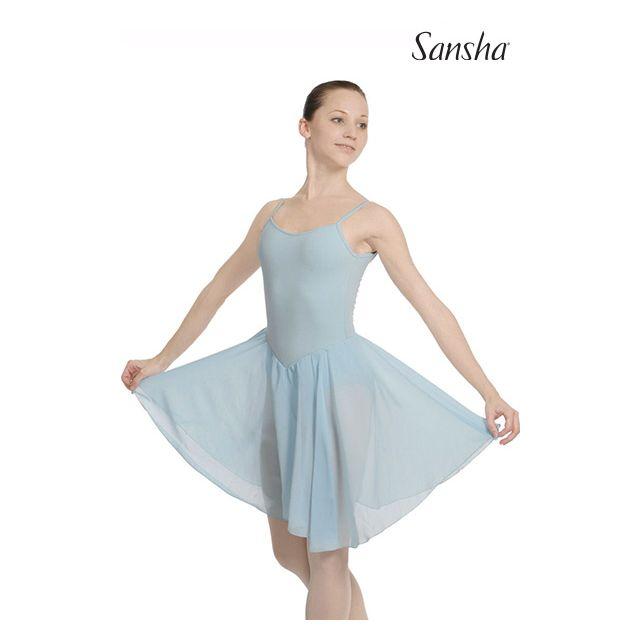 Rochie Sansha cu bretele subțiri LINDA L1805CH