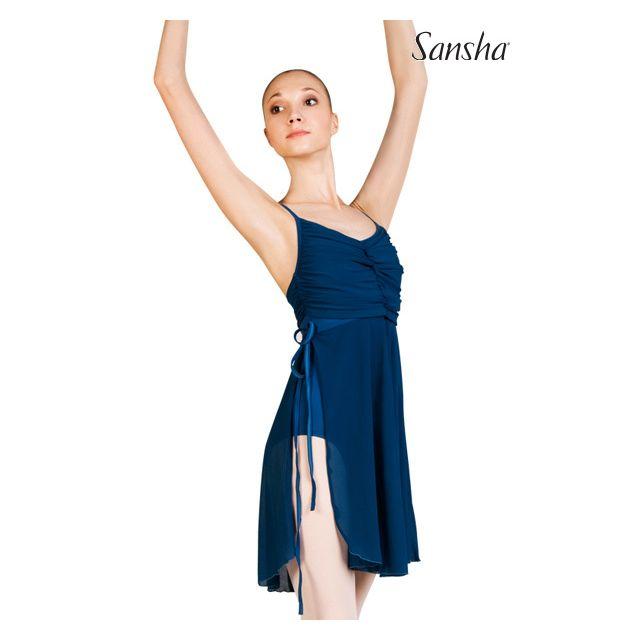 Rochie Sansha cu bretele subțiri SAYURI L1814M