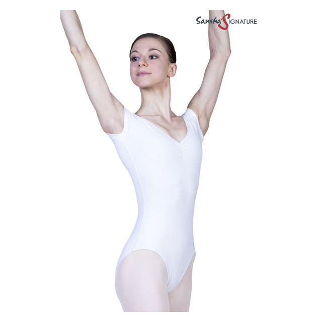 Costum de balet Sansha Sign cu mânecuțe BRIYA L3551C