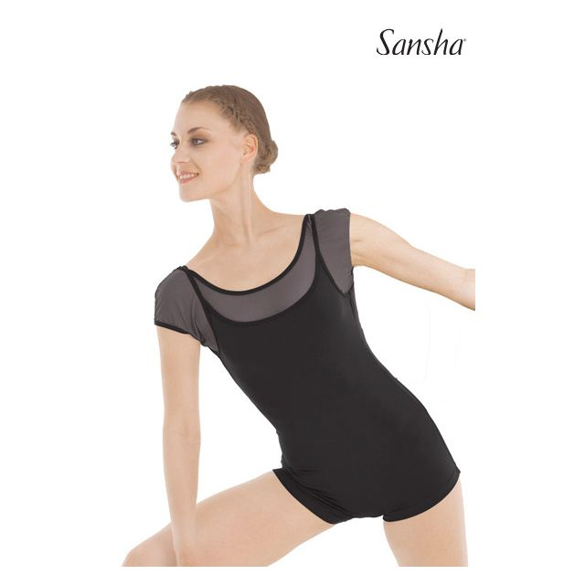Salopetă Sansha cu mânecuțe TABORRI L3601M