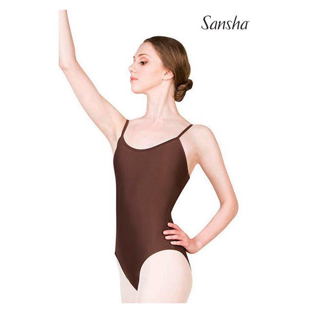 Costum de balet Sansha cu bretele subțiri LIANA LE1561T