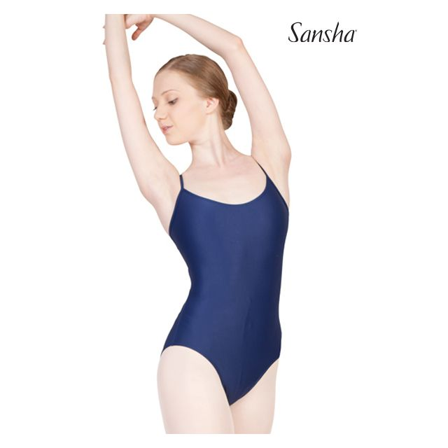 Costum de balet Sansha cu bretele subțiri ALMATA LE1565T