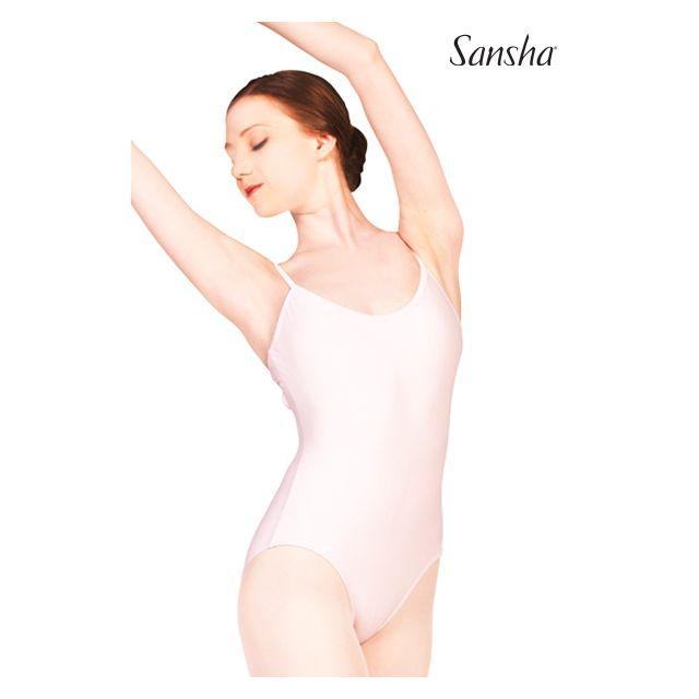 Costum de balet Sansha cu bretele încrucișate TIANA LE1569T
